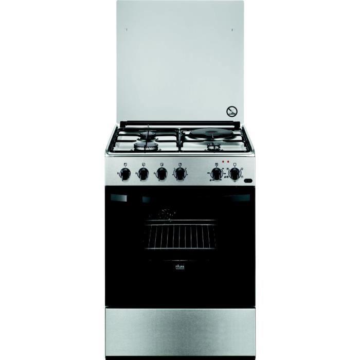 cuisini re mixte faure faure fcm6509cxa electro discount. Black Bedroom Furniture Sets. Home Design Ideas