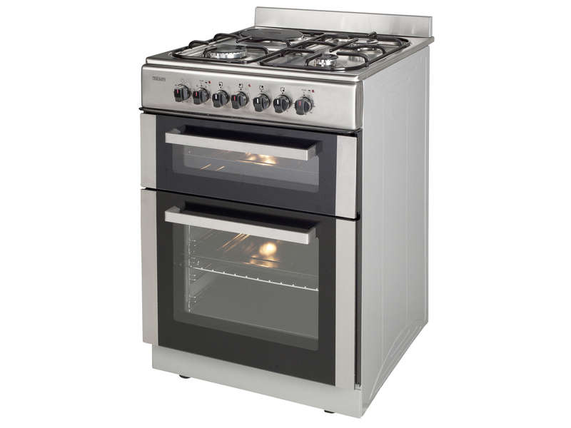 Cuisini re mixte double four triomph tmdt506x electro vente l - Gaziniere double four ...
