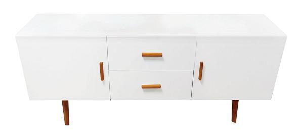 meuble de rangement blanc 2 portes b8 electro discount. Black Bedroom Furniture Sets. Home Design Ideas
