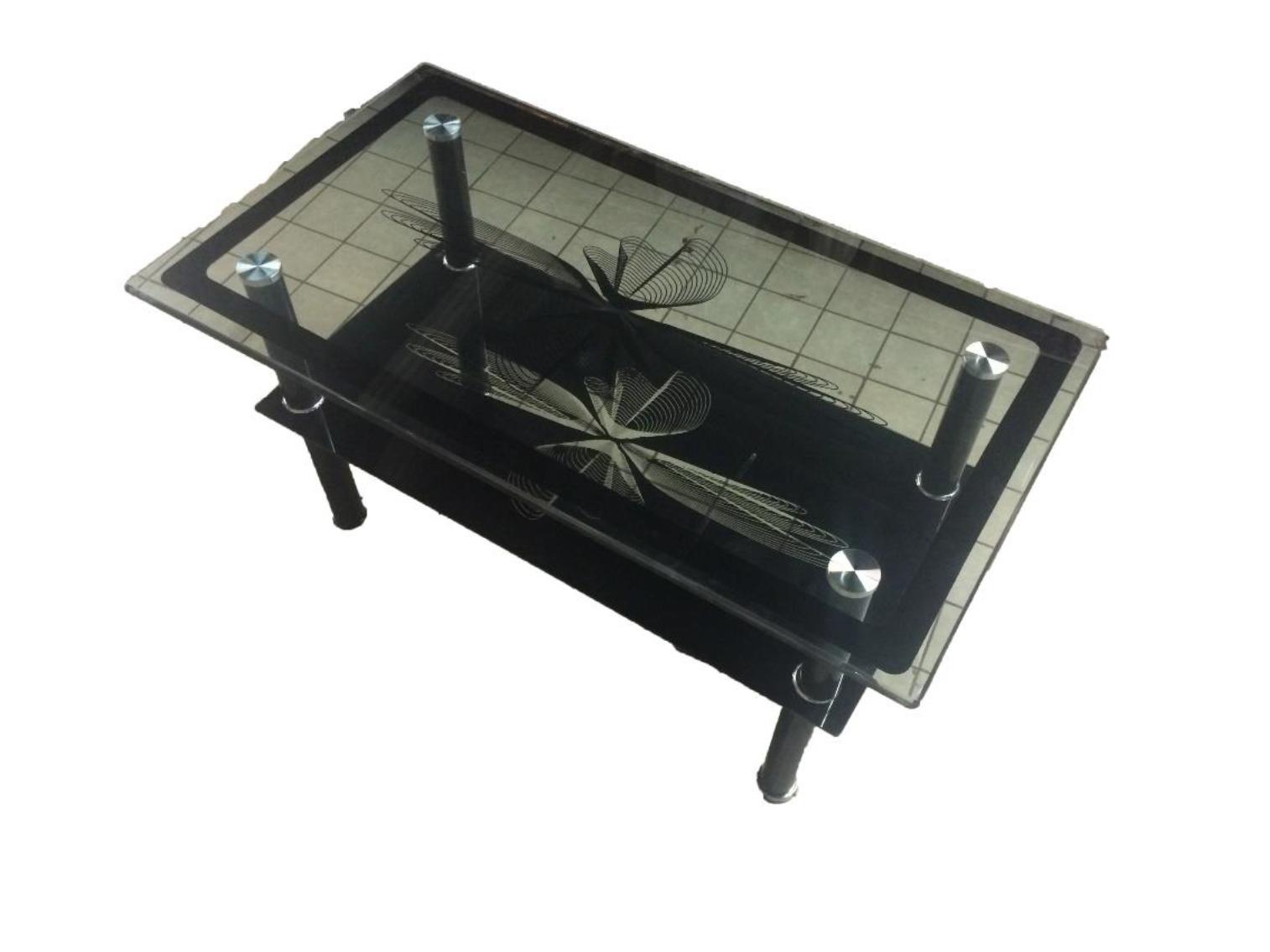Table basse noire jm38 electro vente lectrom nager meubles - Table basse encastrable ...