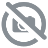 Lot de 4 chaises noires/chrome