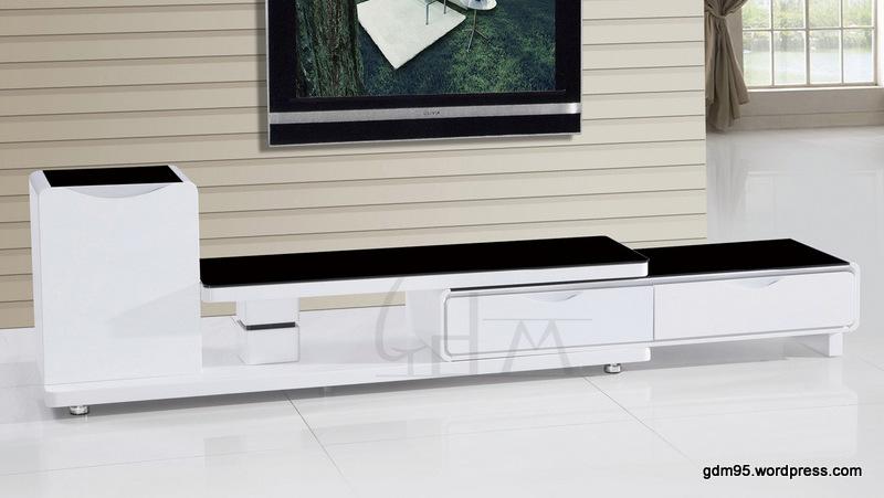 meuble tv extensible tv139b electro discount